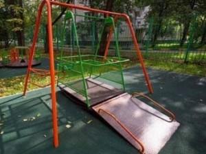Качели для детей-инвалидов