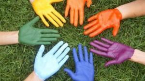 Цветные руки