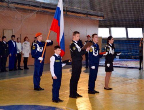 Кировское региональное молодежное общественное движение «ПАТРИОТ» приняло участие в посвящении в кадеты и курсанты